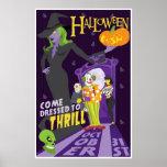Poster genérico del fiesta de Halloween