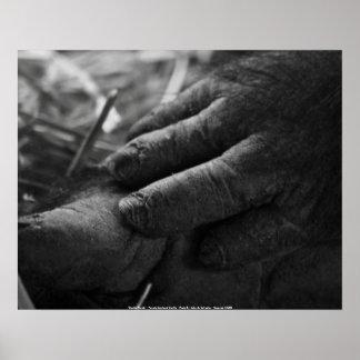 """Poster """"Gentle Hands"""" - Female ..."""