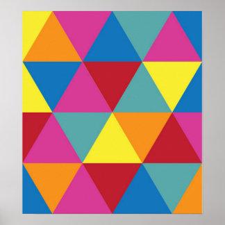 Poster geométrico póster