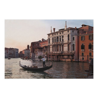 Poster/góndola de Venecia Italia Póster