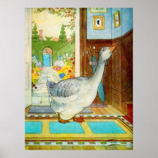 Poster: Goosey Goosey Gander Poster
