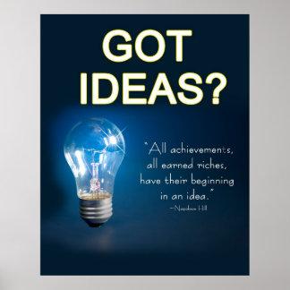 Poster - GOT  IDEAS?
