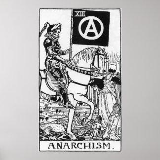 Poster gótico del anarquismo