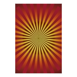Poster: Gradient Lines: Psychedelic Artwork Poster