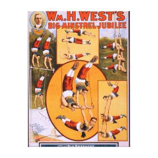 Poster grande de JubileeGymnasts del trovador del  Lona Estirada Galerías