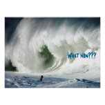 Poster grande de la onda