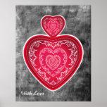 Poster grande del corazón