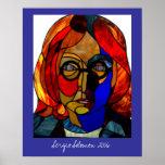 Poster grande del vitral de Sergio Solomon