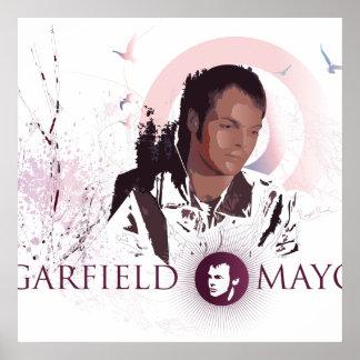 """Poster grande (rosado) del alcalde """"viaje"""" de Garf"""