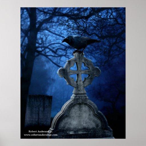 Poster grave del cuervo 16x20
