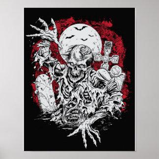 Poster grave del zombi
