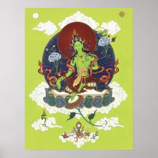 POSTER Green Tara - starting from $14.25