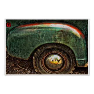 Poster - Grungy Old Truck