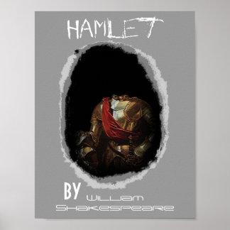 Poster Hamlet del juego del teatro de William Shak