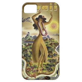 Poster hawaiano del viaje del vintage iPhone 5 funda