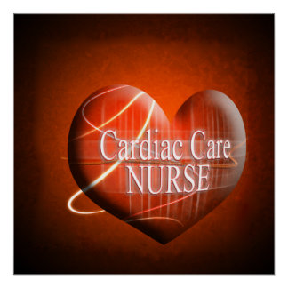 POSTER HEART - CARDIAC NURSE