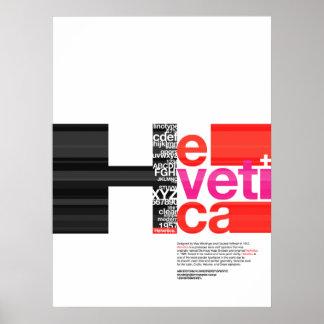 Poster HELVÉTICA Póster