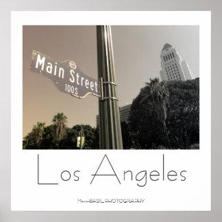¡Poster hermoso de Los Ángeles!