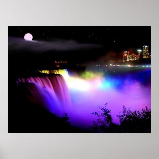 Poster hermoso de Niagara Falls