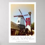 ¡Poster hermoso de Solvang!