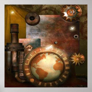 Poster hermoso de Steampunk