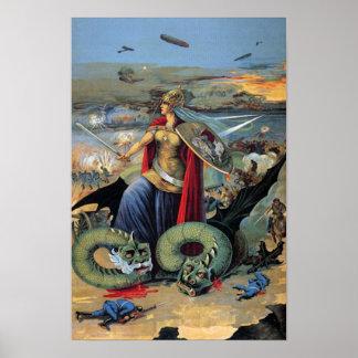 ¿Poster - héroe ruso? (Era del zar) Póster