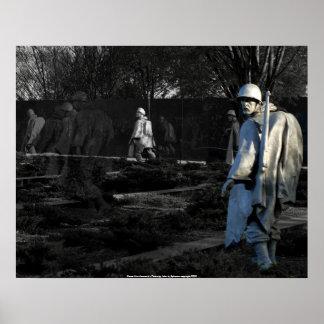 """poster """"Heros"""" Korea War Memorial - Photo..."""