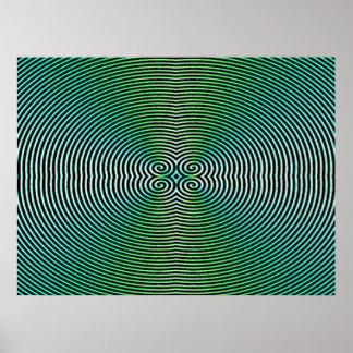 Poster hipnótico