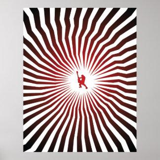 Poster hipnotizado