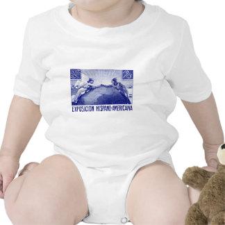 Poster hispanoamericano de la expo 1915 traje de bebé