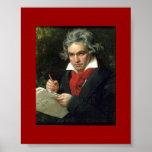 Poster histórico Beethoven