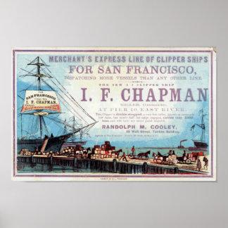 Poster histórico de Repro de la nave de podadoras