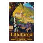 Poster húngaro del viaje de Lillafured