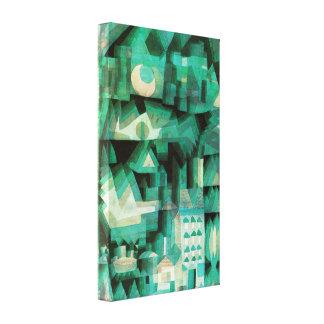 Poster ideal de la lona de la ciudad de Paul Klee Lona Estirada Galerias