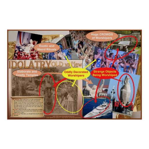 Poster (Idolatry Old vs New)
