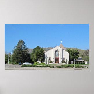 Poster: Iglesia luterana de Zion, San Luis Obispo Póster