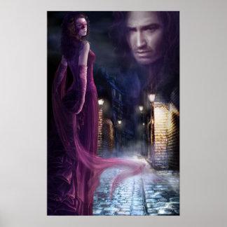 "poster illustration ""Nights of Sin """
