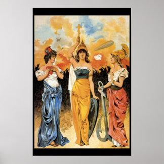 Poster - imagen del public domain - era del zar
