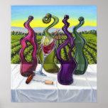 Poster impar del vino