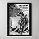 Poster imperial de la publicidad de la bicicleta 1