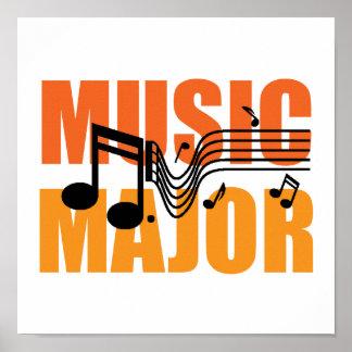 Poster importante de la música