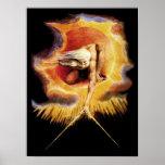 Poster/impresión: Antiguo del ~ Guillermo Blake de