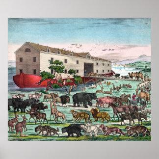 Poster impresión de la arca de Noah