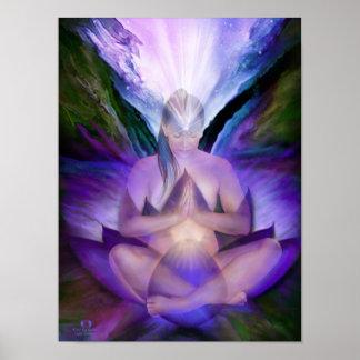 Poster/impresión de la bella arte de la diosa de C