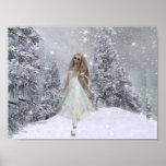 Poster/impresión de la belleza D1 del invierno