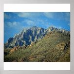 Poster/impresión de la montaña de la torre