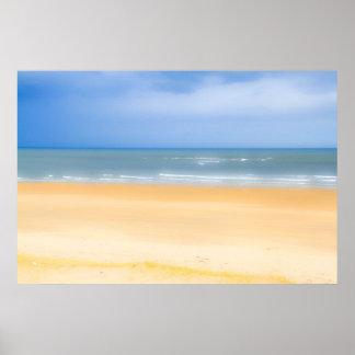Poster/impresión de la playa póster
