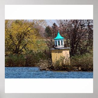Poster/impresión de la torre del lago