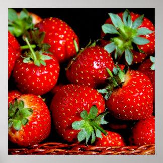 Poster/impresión de las fresas