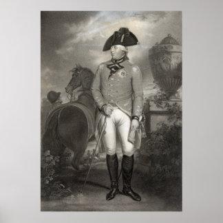 Poster/impresión de rey George III Póster